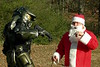 Master Chief Attacks Santa