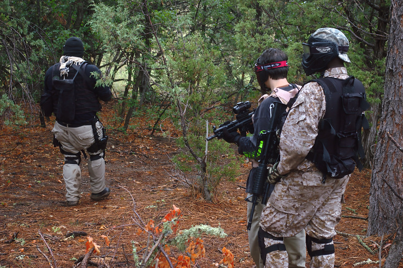 Airsoft, New Mexico, Tijeras, Oak Flats, Pentax, July, 2008, 13th, Codename, Dystopia