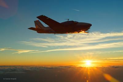 Beechcraft E-55 Baron N15VK