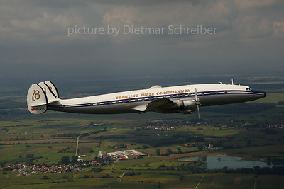 2013-09-13 HB-RSC Lockheed Constellation Breitling