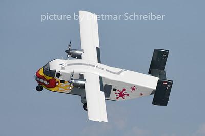 2014-08-08 OE-FDK Shorts SC7 Skyvan Pink Aviation