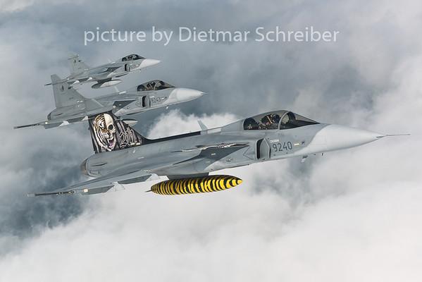 2014-08-27 Saab 39 Gripen Czech Air Force
