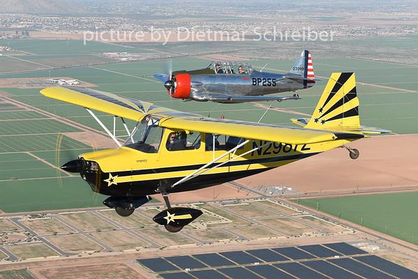 2015-02-07 N2987Z Citabria / N3158G T6 Texan