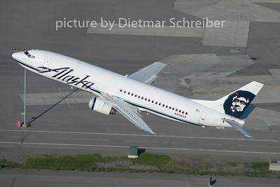 2015-06-15 N768AS Boeing 737-400 Alaska Airlines