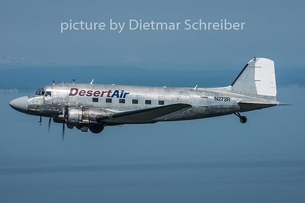 2015-06-16 N272R DC3 Desert Air