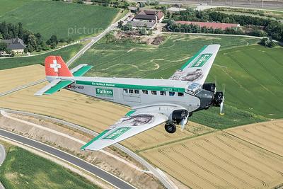 2016-07-08 HB-HOP Junkers Ju52 Ju Air