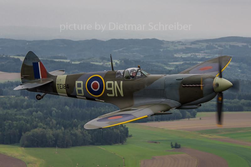 2017-09-10 G-MXVI / TE184 Spitfire