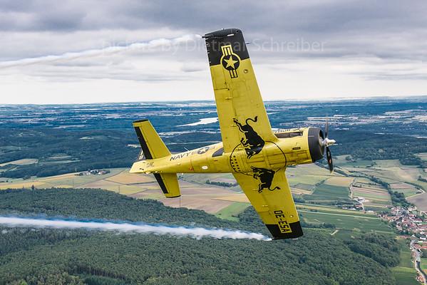 2017-09-10 OE-ESA North American T28 Trojan The Flying Bulls