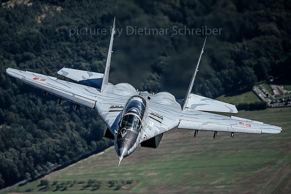 2017-09-14 1303 Mig 29 Slovak Air Force