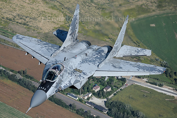 2017-09-14 0921 Mig 29 Slovak Air Force