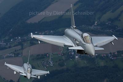 2017-09-14 7L-WF / 7L-WH Eurofigther Austrian Air Force