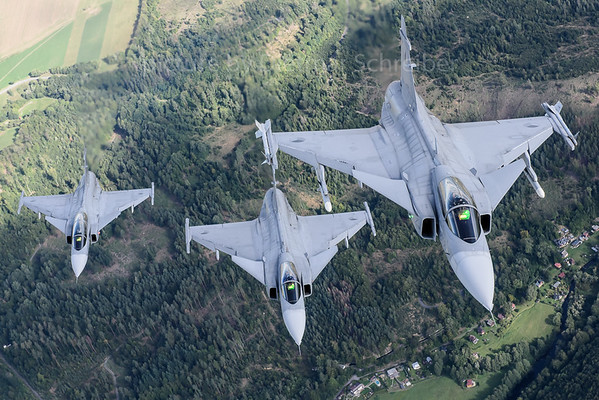 2017-09-14 Saab Gripen Czech Air Force