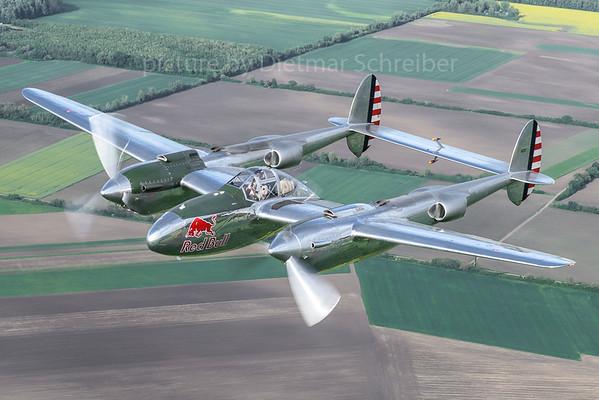 2018-05-01 N25Y Lockheed P-38 Flying Bulls