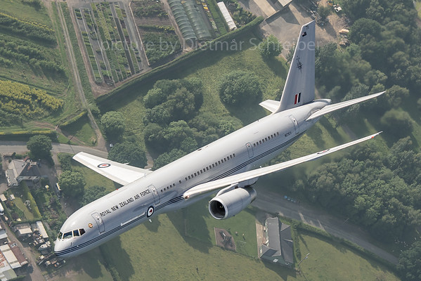 2018-06-09 NZ7571 Boeing 757-200 New Zealand Air Force