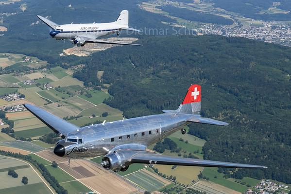 2018-06-20 HB-IRJ / N341HM Douglas DC3