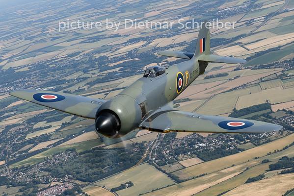 2018-07-03 G-CBEL Hawker Fury