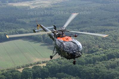 2018-09-07 M-2 SA315 Alouette Belgian Air Force