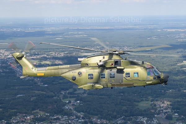 2018-09-07 M-502 EH-101 Danish Air Force