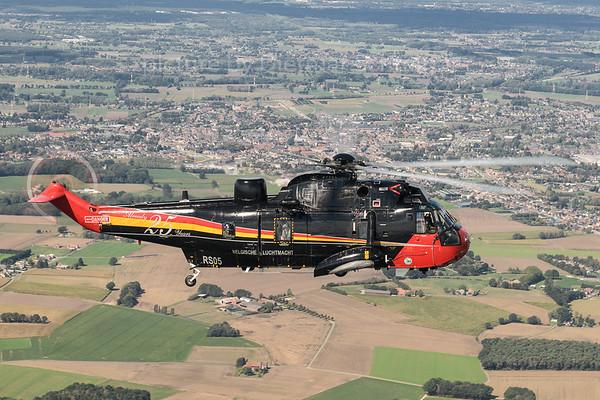2018-09-07 RS-05 S61 Sea King Belgian Air Force
