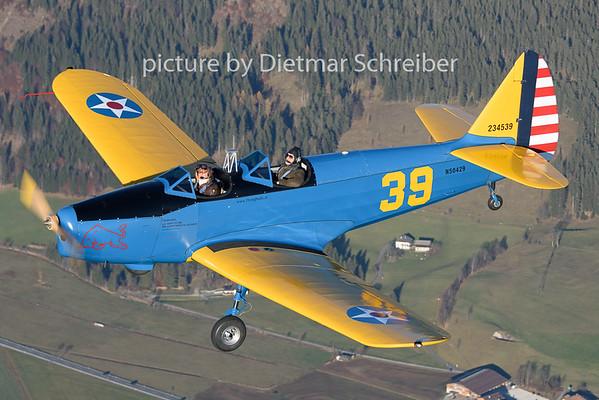 2018-11-17 N50429 Fairchild PT19 Flying Bulls