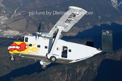 2018-11-17 OE-FDK Shorts Skyvan Pink Aviation