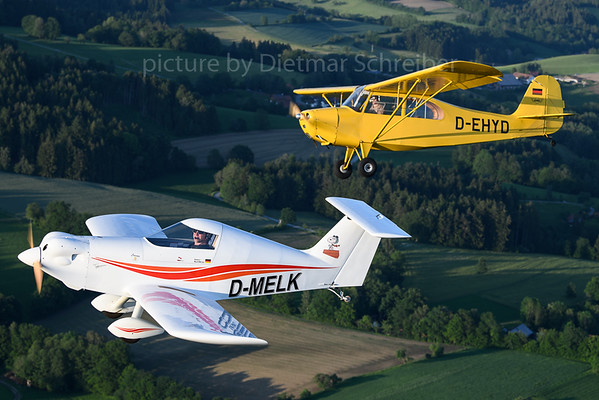2019-05-30 D-MELK SD Aircraft SD-1 / D-EHYD Aeronca 7 Champion