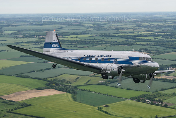 2019-06-04 OH-LCH Douglas DC3 Finnish Air Lines
