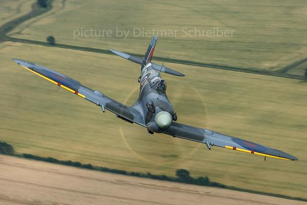 2019-07-09 G-VMIJ (EE602) Spitfire