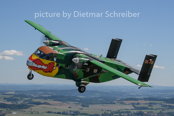 2019-08-18 OE-FDI Shorts SC7 Skyvan Pink Aviation