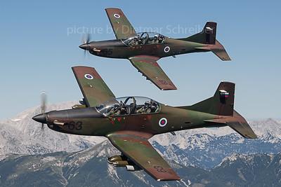 2019-09-04 Pilatus PC9 Slovenian Air Force