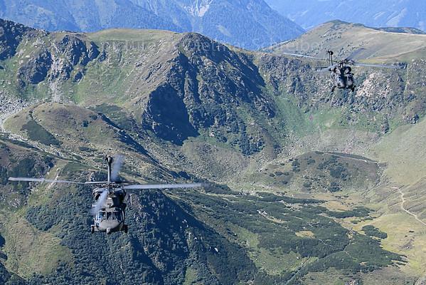 2019-09-04 6M-BB / 6M-BF Sikorsky Black Hawk Austrian Air Force