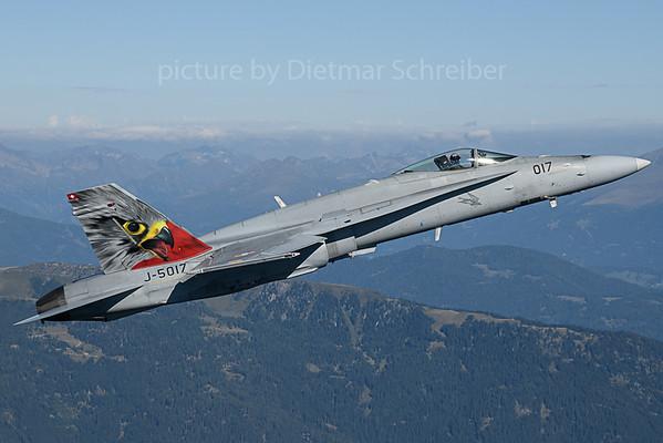 2019-09-05 J-5017 F18 Swiss Air Force