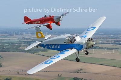 2020-09-13 D-EMDR Siebel Hummel / G-AWDT Miles Hawk
