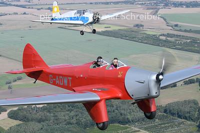 2020-09-13 G-ADWT Miles Hawk / D-EMDR Siebel Hummel