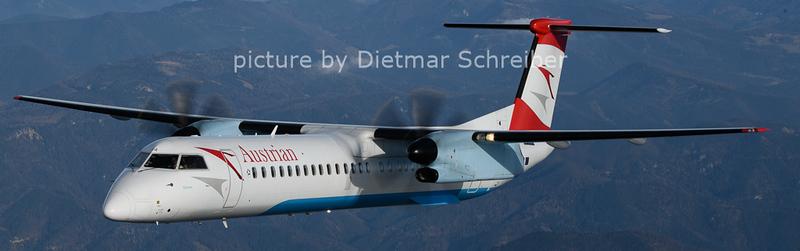 2020-12-02 OE-LGA Dash 8-400 Austrian Airlines