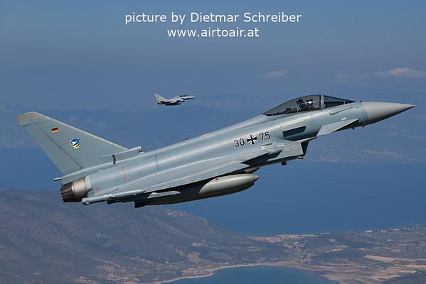2021-09-02 30+75 / 31+28 Eurofighter Typhoon German Air Force