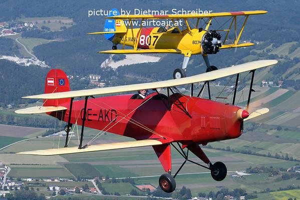 2021-09-11 OE-AKD Jungmann / OE-CBM Stearman