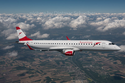 2016-05-09 OE-LWI Embraer 195 Austrian Airlines