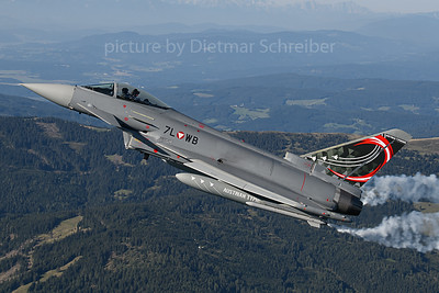 2019-09-05 7L-WB Typhoon Austrian Air Force