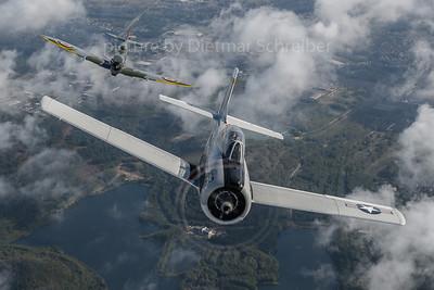 2018-09-07 NX377WW T28 / OO-XVI Spitfire