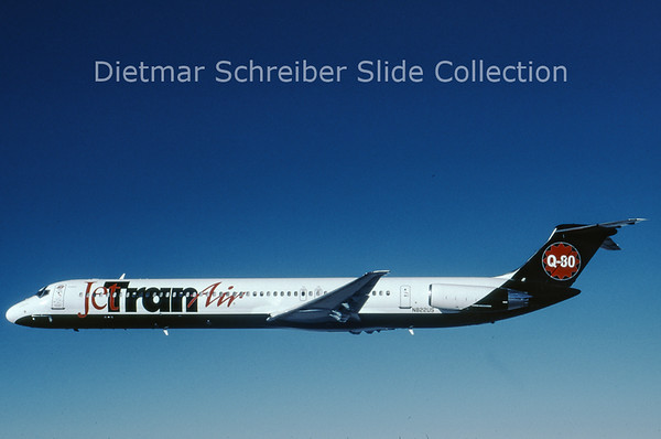 2006-05 N822US MDD MD82 (c/n 49139) Jet Tran Air