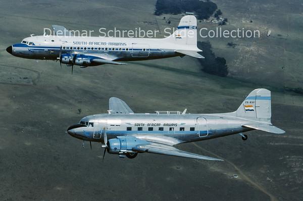 1995-10 ZS-BXF Douglas DC-3C (c/n 12107) South African Airways