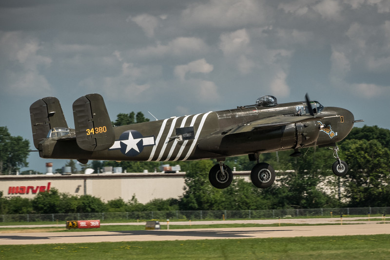 B-25J Takeoff