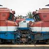 Several class 8000 locos await their fate at Yeongju.