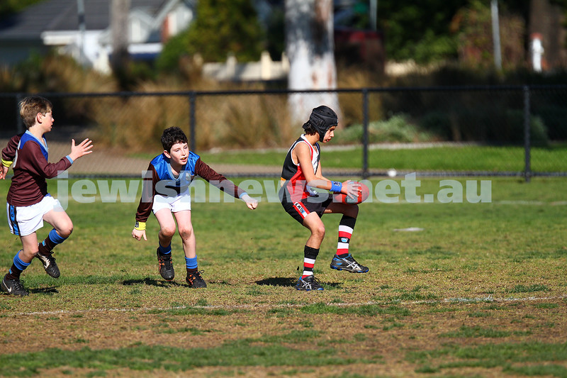 19-7-15. Ajax junior football. Under 10 Jets v Ormond. Photo: Peter Haskin