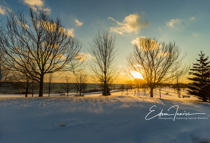 Winter sunset #4