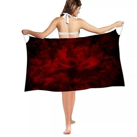 Rose Fantasy - Beach Cover - 180cm x 90cm