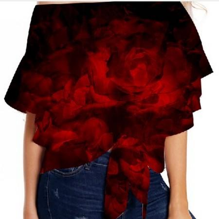 Rose Fantasy - Top Fashion Loose Shirt