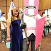 Blue Princess and Pink Knight