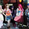 Fluttershy, Applejack, Twilight Sparkle, Pinkie Pie, and Rainbow Dash